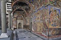 BG41174.JPG BULGARIA, RILA MONASTERY, CHURCH OF NATIVITY, frescoes