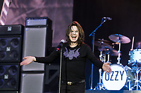 Ozzy Osbourne at Download Festival 2018, where  he closed the final night of the 3 day music event on his first ever solo headline appearance.  100,000 people attended over the weekend making it the UK's largest single site festival of 2018. <br /> Download Festival, Donington Park on June 10, 2018 in Derby, England, UK.<br /> *Editorial Use Only*<br /> CAP/PLF<br /> photo credit: Ross Halfin<br /> Image supplied by Capital Pictures