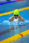 Australia's Rick Pendleton competes in the men's 200m individual medley SM10 final, winning in world record time (2:12.78) and taking gold.