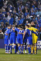 Kansas City Wizards...Kansas City Wizards defeated D.C Utd 4-0 in their home opener at Community America Ballpark, Kansas City, Kansas.