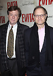 David Hyde Pierce & Partner Brian Hargrove.attending the Broadway Opening Night Performance of 'EVITA' at the Marquis Theatre in New York City on 4/6/2012