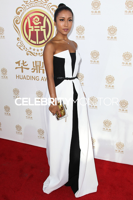 HOLLYWOOD, LOS ANGELES, CA, USA - JUNE 01: Summer Jikejunyi at the 12th Annual Huading Film Awards held at the Montalban Theatre on June 1, 2014 in Hollywood, Los Angeles, California, United States. (Photo by Xavier Collin/Celebrity Monitor)