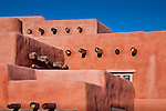 The Painted Desert Inn, a National Historic Landmark in Petrified Forest National Park, AZ, USA