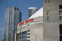 The Rogers Centre is pictured in Toronto April 22, 2010. Home of the MLB Toronto Blue Jays and the CFL Toronto Argonauts, the Rogers Centre, formerly known as SkyDome, is a multi-purpose stadium in downtown Toronto.