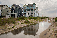 Jenny Creech and Dawny Taylor and coastal scenes in Stumpy Point and in SALVO, NC on Sunday, July 9, 2017. (Justin Cook for The Guardian)