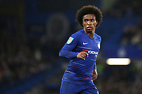 Willian of Chelsea during Chelsea vs Derby County, Caraboa Cup Football at Stamford Bridge on 31st October 2018