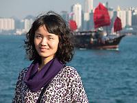 Hong-Kong, Chine, Asia, Asie, Avenue of Stars,  Tsim Sha Tsui waterfront. ????.