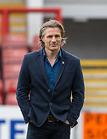 Wycombe Wanderers Manager Gareth Ainsworth ahead of the Sky Bet League 2 match between Leyton Orient and Wycombe Wanderers at the Matchroom Stadium, London, England on 1 April 2017. Photo by Andy Rowland.