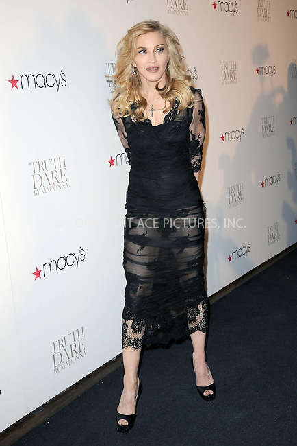 WWW.ACEPIXS.COM . . . . . .April 12, 2012...New York City....Madonna launches her signature fragrance Truth Or Dare at Macy`s Herald Square on April 12, 2012  in New York City ....Please byline: KRISTIN CALLAHAN - ACEPIXS.COM.. . . . . . ..Ace Pictures, Inc: ..tel: (212) 243 8787 or (646) 769 0430..e-mail: info@acepixs.com..web: http://www.acepixs.com .
