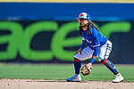 6 March 2019: Toronto Blue Jays infielder Freddy Galvis in action during a Spring Training game against the Philadelphia Phillies at Dunedin Stadium in Dunedin, Florida. The Blue Jays defeated the Phillies 9-7 in Grapefruit League play. Mandatory Credit: Ed Wolfstein Photo *** RAW (NEF) Image File Available ***