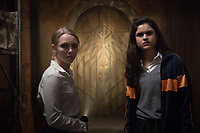 AnnaSophia Robb &amp; Victoria Moroles in Down a Dark Hall (2018) <br /> *Filmstill - Editorial Use Only*<br /> CAP/RFS<br /> Image supplied by Capital Pictures