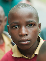 Portrait of a boy in Nyungwe National Park, Rwanda