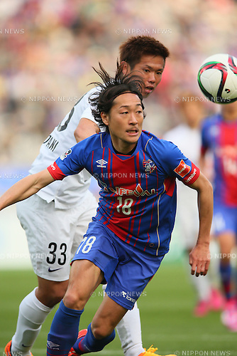 Naohiro Ishikawa (FC Tokyo), <br /> APRIL 18, 2015 - Football /Soccer : <br /> 2015 J1 League 1st stage match <br /> between F.C. Tokyo 1-2 Sanfrecce Hiroshima <br /> at Ajinomoto Stadium, Tokyo, Japan. <br /> (Photo by YUTAKA/AFLO SPORT) [1040]