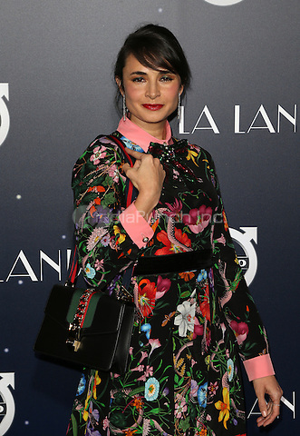 "Westwood, CA - DECEMBER 06: Mia Maestro<br /> , At Premiere Of Lionsgate's ""La La Land"" At Mann Village Theatre, California on December 06, 2016. Credit: Faye Sadou/MediaPunch"