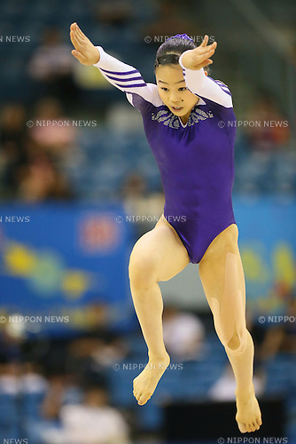 Sae Miyakawa, <br /> JULY 6, 2014 - Artistic Gymnastics : The 68th All Japan Artistic Gymnastics Apparatus Championship, Women's Floor exercise Final at Chiba Port Arena, Chiba, Japan. (Photo by Yohei Osada/AFLO SPORT)