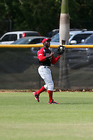 Starling Heredia participates in the Dominican Prospect League 2014 Louisville Slugger Tournament at the New York Yankees academy in Boca Chica, Dominican Republic on January 20-21, 2014 (Bill Mitchell)