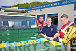 SUPPORT US: Members of the Ballybunion Sea and Cliff Rescue who are bidding for a nomination for this year's People of the Year Awards, l-r: Jonathon Mahony, PJ O'Gorman, Killian Lynch.
