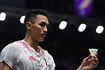 Christie Jonatan (INA), <br /> AUGUST 22, 2018 - Badminton : Men's Team Final match between China - Indonesia at Gelora Bung Karno Istora during the 2018 Jakarta Palembang Asian Games in Jakarta, Indonesia. <br /> (Photo by MATSUO.K/AFLO SPORT)