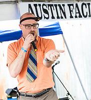 MC Frontalot at SXSW 2012 in Austin, TX.