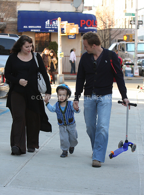 WWW.ACEPIXS.COM . . . . .  ....March 31 2009, New York City....Actor Patrick Wilson, his wife actress Dagmara Dominczyk (who is pregnant), and their son Kalin Patrick were seen walking in their Brooklyn neighborhood on March 31 2009 in New York City....Please byline: AJ Sokalner - ACEPIXS.COM..... *** ***..Ace Pictures, Inc:  ..tel: (212) 243 8787..e-mail: info@acepixs.com..web: http://www.acepixs.com