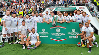 England v Wales in the Old Mutual Wealth Cup game at Twickenham Stadium, England on May 29, 2016.