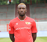 06.07.2019, Stadion an der Wuhlheide, Berlin, GER, 2.FBL, 1.FC UNION BERLIN , Mannschaftsfoto, Portraits, <br /> DFL  regulations prohibit any use of photographs as image sequences and/or quasi-video<br /> im Bild Sheraldo Becker (1.FC Union Berlin #27)<br /> <br /> <br />      <br /> Foto © nordphoto / Engler