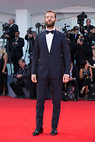 Alessandro Borghi at the Downsizing premiere and Opening Ceremony, 74th Venice Film Festival in Italy on 30 August 2017.<br /> <br /> Photo: Kristina Afanasyeva/Featureflash/SilverHub<br /> 0208 004 5359<br /> sales@silverhubmedia.com