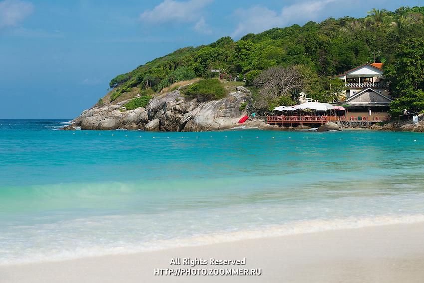 The restaurant of Raya Bungalow Resort On Raya Island, Thailand