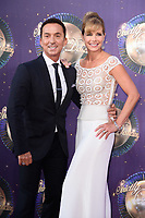Bruno Tonioli and Darcey Bussell<br /> at the launch of the new series of &quot;Strictly Come Dancing, New Broadcasting House, London. <br /> <br /> <br /> &copy;Ash Knotek  D3298  28/08/2017