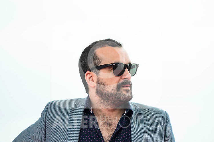 "Spanish director Nacho Vigalondo pose to the media during the presentation of the film ""Colossal"" at Festival de Cine Fantastico de Sitges in Barcelona. October 08, Spain. 2016. (ALTERPHOTOS/BorjaB.Hojas)"