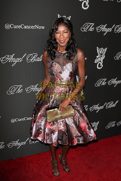 NEW YORK, NY - OCTOBER 20: Natalie Cole pictured at Angel Ball 2014 hosted by Denise Rich at Cipriani's in New York City on October 20, 2014.  <br /> CAP/MPI/DIE<br /> &copy;Diego Corredor/ MediaPunch/Capital Pictures
