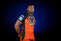 Picture by Allan McKenzie/SWpix.com - 09/01/18 - Rugby League - Super League - Castleford Media Day 2018 - A1 Football Factory, Castleford, England - Gadwin Springer.