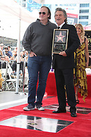 HOLLYWOOD, CA - MAY 04: Quentin Tarantion and Kurt Russell pictured at the ceremony honoring Goldie Hawn and Kurt Russell with a double star ceremony on The Hollywood Walk of Fame on May 4, 2017 in Hollywood, California. Credit: Faye Sadou/MediaPunch