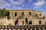 Israel, Shephelah, the historic Nahal Sorek train station