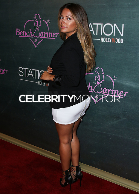 HOLLYWOOD, LOS ANGELES, CA, USA - AUGUST 28: Jessica Burciaga arrives at the Benchwarmer Back To School Celebration to Benefit Children of the Night held at Station Hollywood at the W Hotel Hollywood on August 28, 2014 in Hollywood, Los Angeles, California, United States. (Photo by Xavier Collin/Celebrity Monitor)