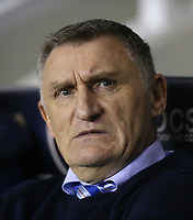 Blackburn Rovers manager Tony Mowbray <br /> <br /> Photographer Rob Newell/CameraSport<br /> <br /> The EFL Sky Bet Championship - Millwall v Blackburn Rovers - Saturday 12th January 2019 - The Den - London<br /> <br /> World Copyright &copy; 2019 CameraSport. All rights reserved. 43 Linden Ave. Countesthorpe. Leicester. England. LE8 5PG - Tel: +44 (0) 116 277 4147 - admin@camerasport.com - www.camerasport.com