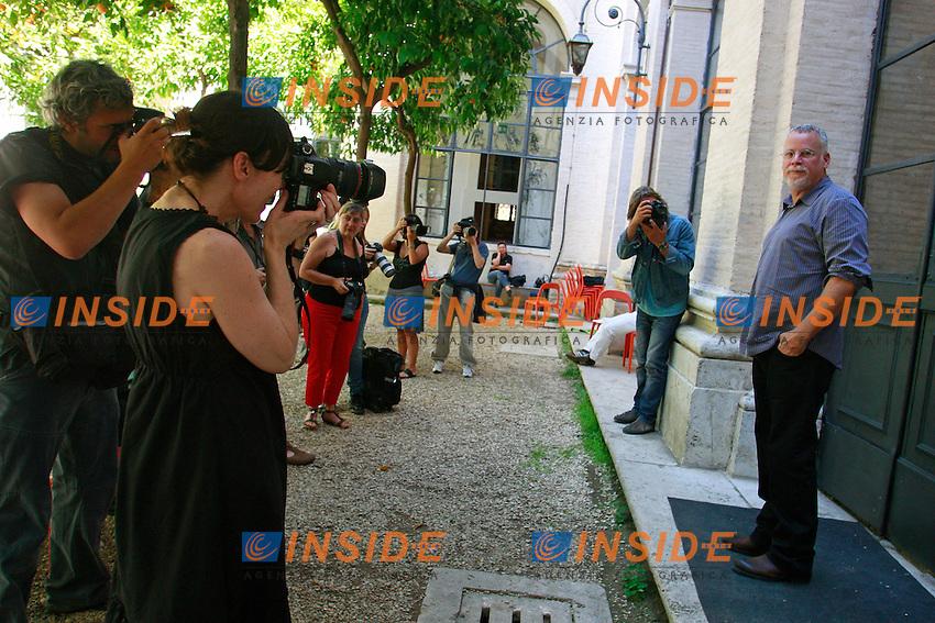 Michael Connelly.Roma 18/06/2012 Festival delle Letterature 2012. 2012 Literature Rome Festival..Photo Samantha Zucchi Insidefoto