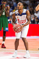 Real Madrid's player Dontaye Draper during match of Liga Endesa at Barclaycard Center in Madrid. September 30, Spain. 2016. (ALTERPHOTOS/BorjaB.Hojas) /NORTEPHOTO.COM