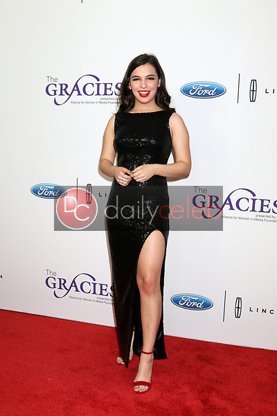 Isabella Gomez<br /> at the 42nd Annual Gracie Awards, Beverly Wilshire Hotel, Beverly Hills, CA 05-22-18<br /> David Edwards/DailyCeleb.com 818-249-4998