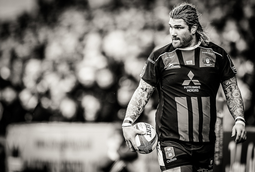 Gloucester Rugby's Richard Hibbard in action during todays match<br /> <br /> Photographer Craig Thomas/CameraSport<br /> <br /> Rugby Union - European Rugby Challenge Cup Quarter Final - Gloucester Rugby v Newport Gwent Dragons - Saturday 9th April 2016 - Kingsholm Stadium - Gloucester<br /> <br /> &copy; CameraSport - 43 Linden Ave. Countesthorpe. Leicester. England. LE8 5PG - Tel: +44 (0) 116 277 4147 - admin@camerasport.com - www.camerasport.com