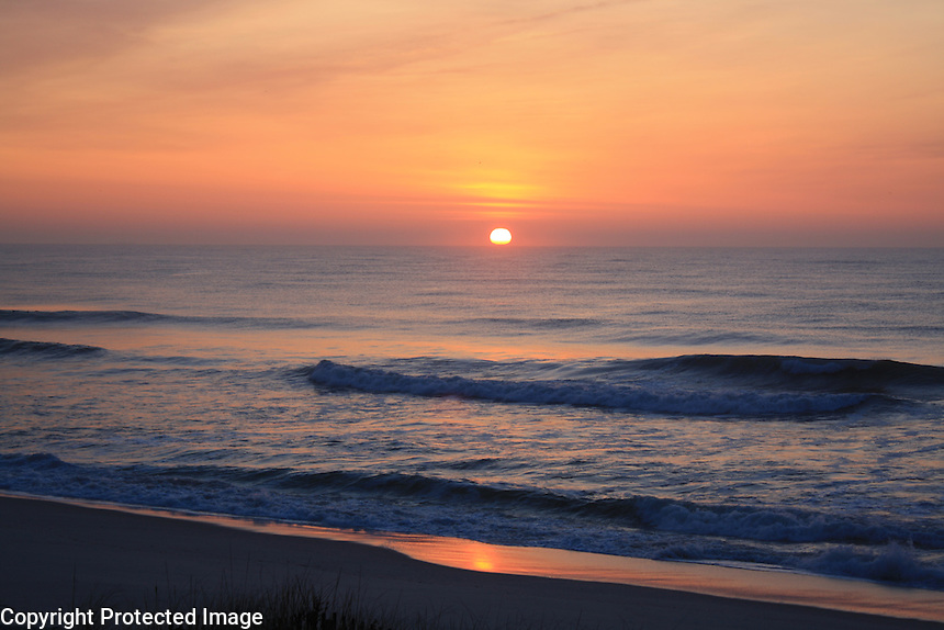 Ocean Sunrise, Long Beach Iseland, New Jersey