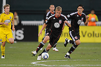 DC United forward Danny Allsopp (9)   The Columbus Crew defeated DC United 1-0 at RFK Stadium, Saturday September 4, 2010.