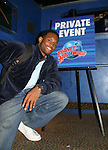 Guiding Light's Lawrence Saint-Victor came to a birthday party at Planet Hollywood, NYC on Sept. 23, 2006. Her birthday was on the 20th of Sept. (Photo by Sue Coflin/Max Photos)