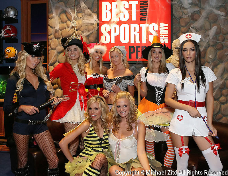 Best Damn Sports Show Period Halloween Special featuring LegAvenue<br />