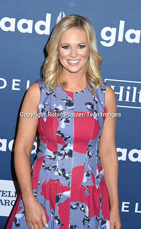 Margaret Hoover attends the 27th Annual GLAAD Media Awards on May 14, 2016 at the Waldorf Astoria Hotel in New York City, New York, USA.<br /> <br /> photo by Robin Platzer/Twin Images<br />  <br /> phone number 212-935-0770