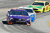 Denny Hamlin, Joe Gibbs Racing, Toyota Camry FedEx Ground, Brad Keselowski, Team Penske, Ford Fusion Reese/DrawTite, Ryan Blaney, Team Penske, Ford Fusion Menards/Libman