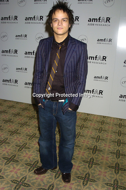 Jamie Cullum ..at The Annual amFar Benefit on November 30, 2004 at ..The Pierre Hotel in New York City. Patti LaBelle, Sumner Redstone and Peter Dolan were honored. ..Photo by Robin Platzer, Twin Images