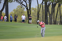 Rafael Cabrera Bello (ESP) hits his approach shot on 1 during day 3 of the WGC Dell Match Play, at the Austin Country Club, Austin, Texas, USA. 3/29/2019.<br /> Picture: Golffile | Ken Murray<br /> <br /> <br /> All photo usage must carry mandatory copyright credit (© Golffile | Ken Murray)