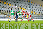 Legion's Shaun Keane looking for his next move as he moves away from Cathal Murphy challenge during their Club championship semi final in Fitzgerald Stadium on Saturday