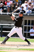 August 15 2008:  Designated Hitter Jim Thome of the Chicago White Sox during a game at U.S. Cellular Field in Chicago, IL.  Photo by:  Mike Janes/Four Seam Images